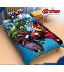 Детское одеяло панно Marvel Команда мстители