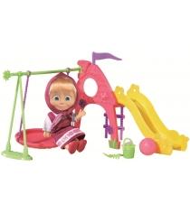 Кукла Маша на детской площадке Маша и Медведь 9301816