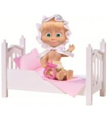 Кукла Маша с кроваткой и аксессуарами Маша и медведь 9301821
