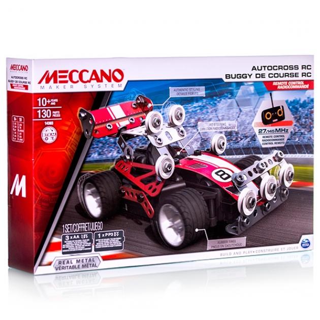 Конструктор Meccano Гоночная машина на радиоуправлении 2 модели 91780