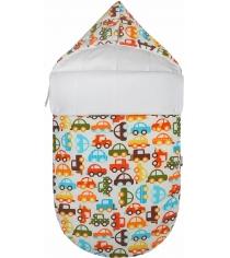 Конверт для новорожденного Mikkimama Берегись автомобиля! зимний