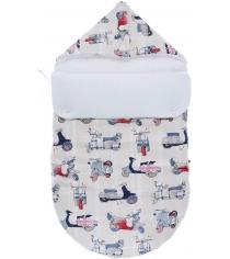 Конверт для новорожденного Mikkimama Vespa осенний/весенний