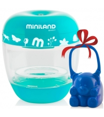 Комплект Miniland стерилизатор On The Go 89163+ контейнер для пустышек 89137