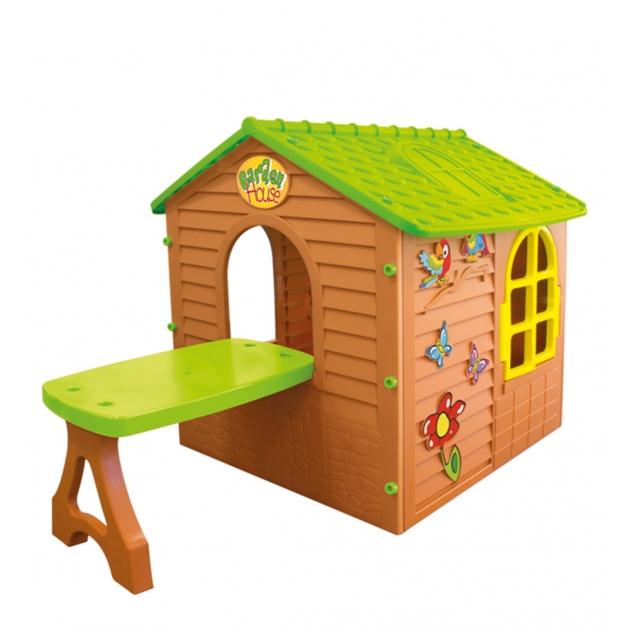 Детский домик Mochtoys со столом 11045