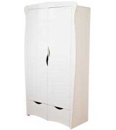 Детский двухстворчатый шкаф Можга (Красная Звезда) С546 белый...