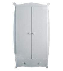 Детский двухстворчатый шкаф Можга С538 белый