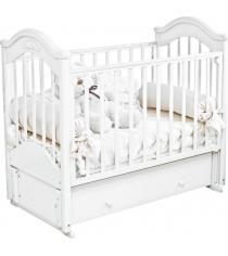 Кровать Можга Красная Звезда Ефросинья С554 белый