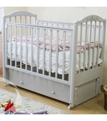 Кровать маятник Можга Красная Звезда Регина С 580 серый