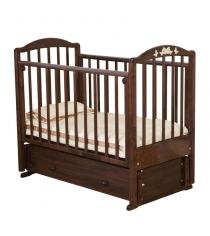 Кровать маятник Можга Красная Звезда Регина С 580  шоколад