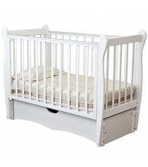 Кровать детская Можга Красная Звезда Сибирочка С777 белый