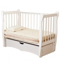 Кровать детская Можга Красная Звезда Сибирочка С777 слоновая кость