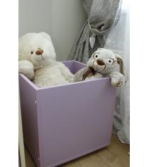 Ящик для игрушек Можга Красная Звезда фиолет...