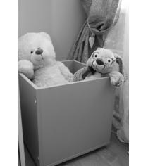 Ящик для игрушек Можга Красная Звезда серый