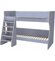 Двухъярусная кровать Р438 Капризун 3 лен голубой...