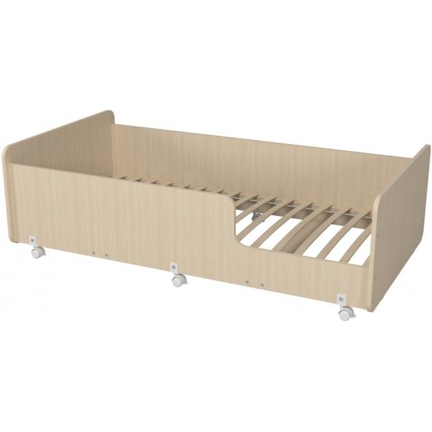 Кровать подростковая Р439 Капризун 4 дуб млечный