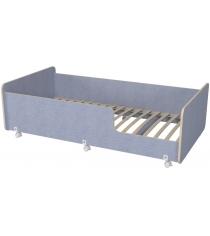 Кровать подростковая Р439 Капризун 4 лен голубой...