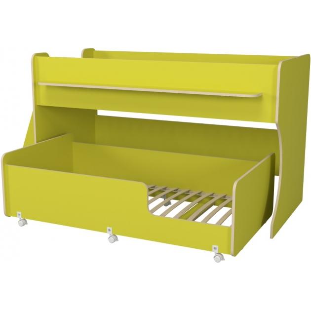 Двухъярусная кровать Р444 Капризун 7 лайм
