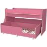 Двухъярусная кровать Р444 Капризун 7 розовый
