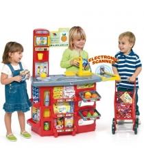 Игровой супермаркет Molto звуковой с тележкой 17 предметов M 12186