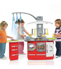 Игровая кухня Molto большая со светом 19 предметов M 7150...