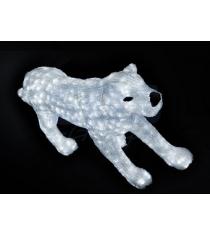 Акриловая фигура Леопард идет 70см, 1200 светодиодов, понижающий трансформатор в...