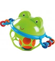 Развивающая игрушка мяч Oball Лягушонок 10063