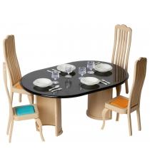 Набор мебели для столовой Огонек коллекция С-1300