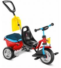 Трехколесный детский велосипед Puky CAT 1SP 2459 red blue...