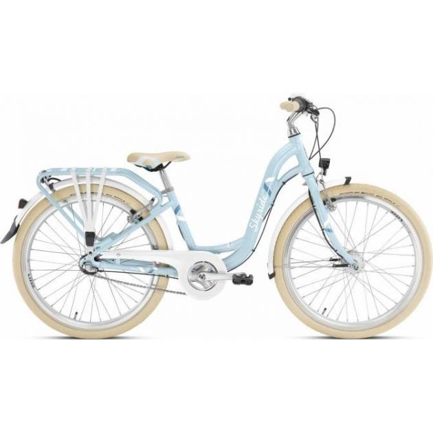 Двухколесный велосипед Puky Skyride 24-3 Alu light 4801 azure