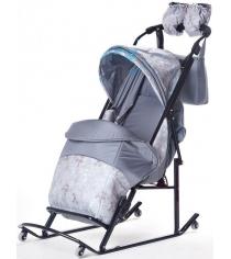 Детские санки Papajoy Kristy Luxe Comfort Plus