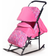 Детские санки Papajoy Kristy Luxe Plus