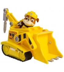 Игрушка щенячий патруль Машинка спасателя и щенок Крепыш 16601-Rub