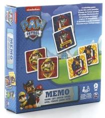 Настольная игра щенячий патруль Spinmaster мемори 48 карточек 6033326