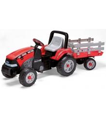 Детский педальный трактор Peg Perego Maxi Diesel Tractor c прицепом D0551