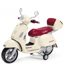 Электромобиль скутер Peg Perego Vespa+ багажник MC0019