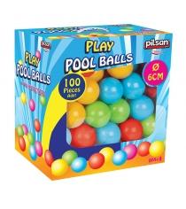 Шарики для сухих бассейнов Pilsan 100 штук 6 см в коробке 6400plsn