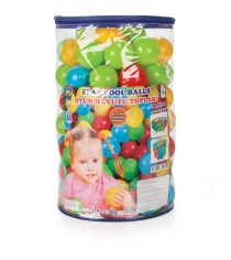 Шарики для сухих бассейнов Pilsan 100 штук 7 см в пакете сумке 6410plsn