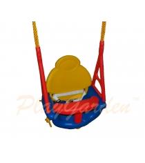 Подвесные качели PlayGarden со спинкой