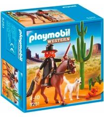 Playmobil серия дикий запад Шериф на лошади 5251pm