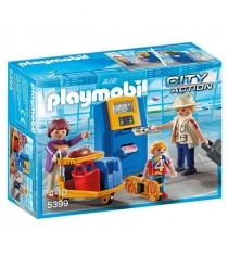 Городской аэропорт Playmobil семья на регистрации 5399pm...