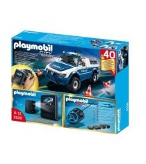 Playmobil Полицейская машина с пультом и камерой 5528pm
