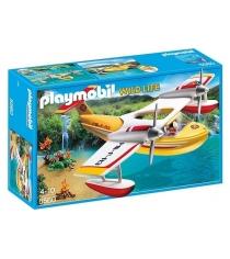 Playmobil В Поисках Приключений: Самолет борется с огнем 5560pm