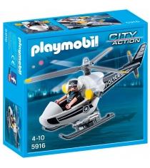 Playmobil Полиция Полицейский вертолет 5916pm