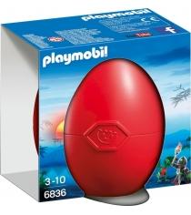 Яйцо Playmobil Воин Дракона 6836pm