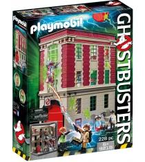 Охотники за привидениями Playmobil Здание пожарной службы 9219pm...