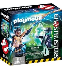 Охотники за привидениями Playmobil Игон Спенглер и привидение 9224pm
