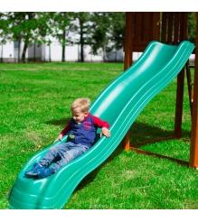 Горка пластиковая Extreme Wave Slide Green 3 м