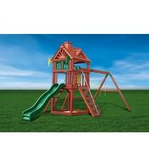 Игровой комплекс для дачи Playnation зеленый замок...