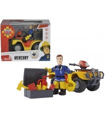 Simba Игровой набор Fireman Sam квадроцикл, фигурка 9257657