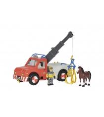 Simba Игровой набор Fireman Sam Феникс с фигуркой пожарного и лошадью 9258280